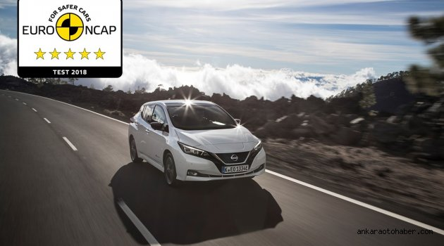 NISSAN LEAF, EuroNCAP'ten Tam Not Aldı!